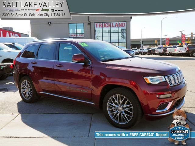2018 Jeep Grand Cherokee Summit >> Certified Pre Owned 2018 Jeep Grand Cherokee Summit With Navigation 4wd
