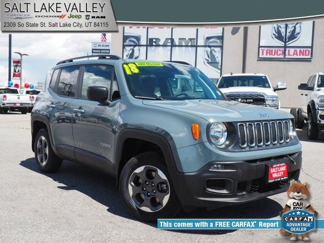 Jeep Certified Pre Owned >> Certified Pre Owned 2018 Jeep Renegade Sport 4wd