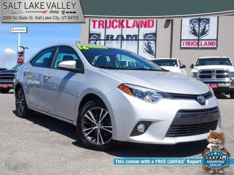 Pre Owned 2016 Toyota Corolla Le Plus 4d Sedan In South Salt Lake City R19380b1 Valley Chrysler Dodge Jeep Ram